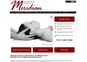 Meridian Professional Training in Massage